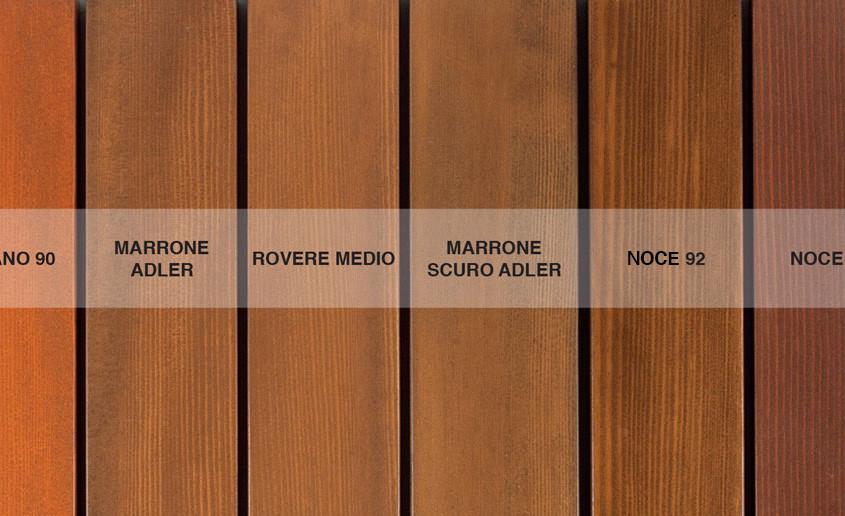 Finiture legno Douglas