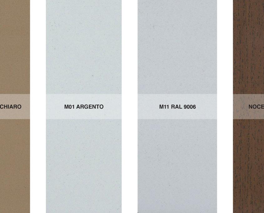 Finiture alluminio